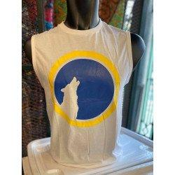 เสื้อแขนกุดสกรีนลาย Full Moon