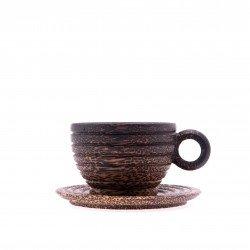 ชุดกาแฟ ขอบแก้วเกลียว