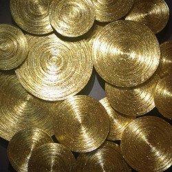 ปั่นไม้ไผ่ทองคำเปลว