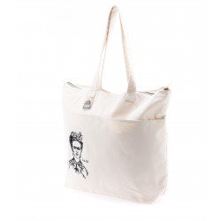 กระเป๋าแคนวาสปักลายศิลปิน L no zip