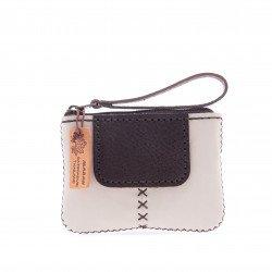 กระเป๋าเงินสีขาว
