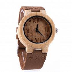 นาฬิกาข้อมือ หน้าปัดไม้