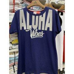 (สีน้ำเงิน) เสื้อสกรีน