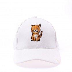 หมวกน้องแมวส้ม