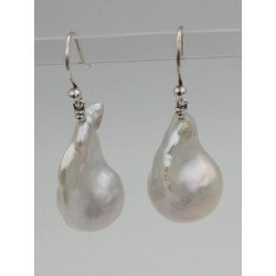 Fresh water pearl and silver 925