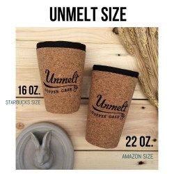 Coffee case Unmelt Elder size ปลอกแก้วกาแฟไม้ก๊อก