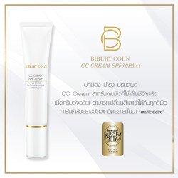 Bibury Coln CC Cream SPF30/PA++ 35ml ซีซีครีมเนื้อบางเบา ปกปิดผิวให้ดูเรียบเนียนอย่างเป็นธรรมชาติ