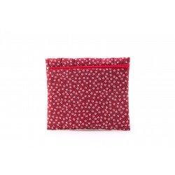 ซองผ้าสำหรับใส่ทิชชู่ สีชมพู