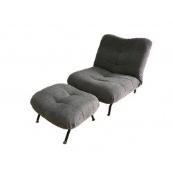 CUSHY เก้าอี้ปรับระดับพร้อมที่วางขา รุ่น FLUFFLY