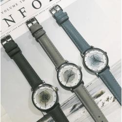 นาฬิกาหน้าปัดดอกกุหลาบ