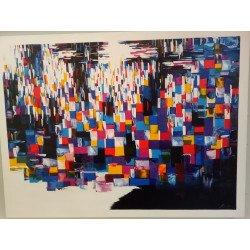 Color palette of city