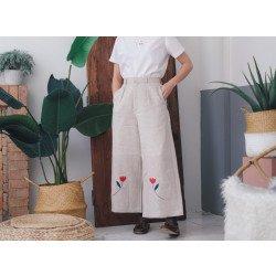 กางเกง Poppy Linen Pants
