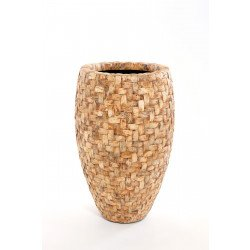 Coconut inlay planter