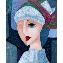 Woman in Turban