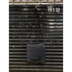 กระเป๋าสะพายข้าง สีดำ รุ่น S-7044