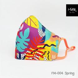 หน้ากากผ้าพิมพ์ลายกราฟิก #Spring