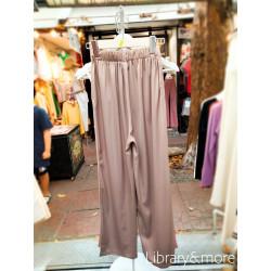 กางเกงผ้าผ้าไหมซาติน: โอวัลติน