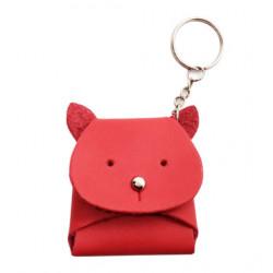 พวงกุญแจกระเป๋าใส่เหรียญ - แมว