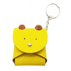 พวงกุญแจกระเป๋าใส่เหรียญ - หมี