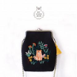 กระเป๋าปิ๊กแป็ก: แมวส้ม