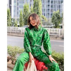 Paisley Set Color - เขียว