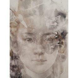 Acrylic บนผืนผ้าใบโดย Silawit Art Studio
